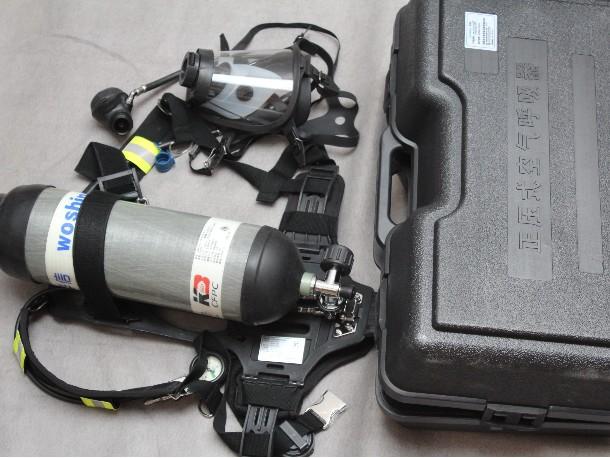 华信安全为你科普空气呼吸器的使用方式