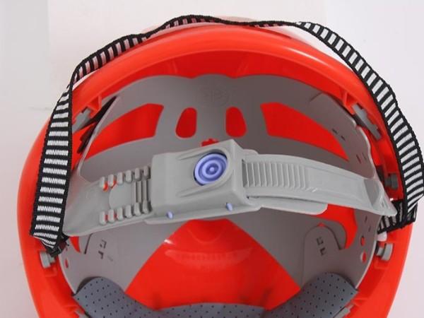 科普来了 正确掌握华信安全帽的佩戴方法