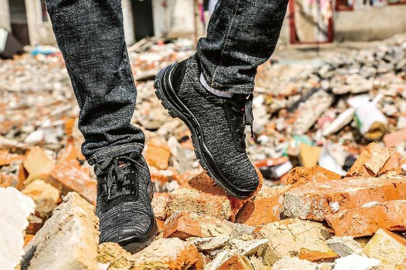 飞织安全鞋
