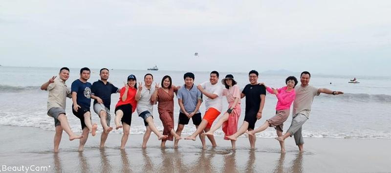 华信安全越南沙滩