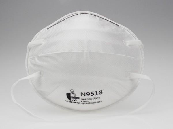 N9518 头戴式杯状口罩
