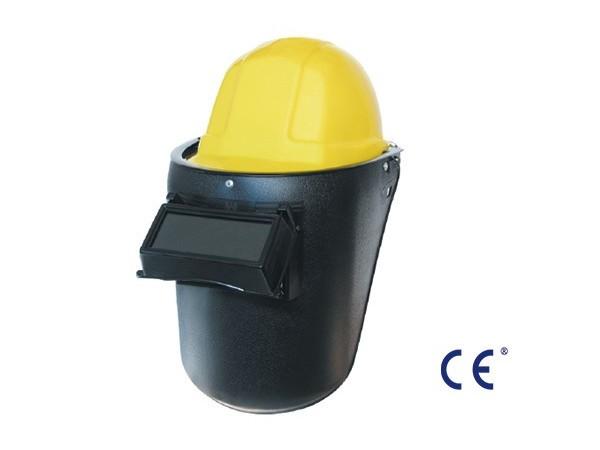 配帽型电焊面罩