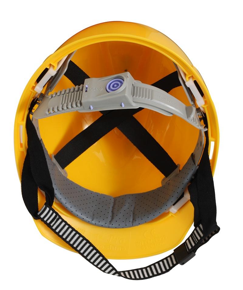 建筑工人安全帽